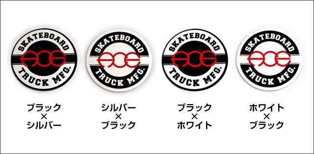 Ace【エース】ステッカー Circle SML 3.8×3.8