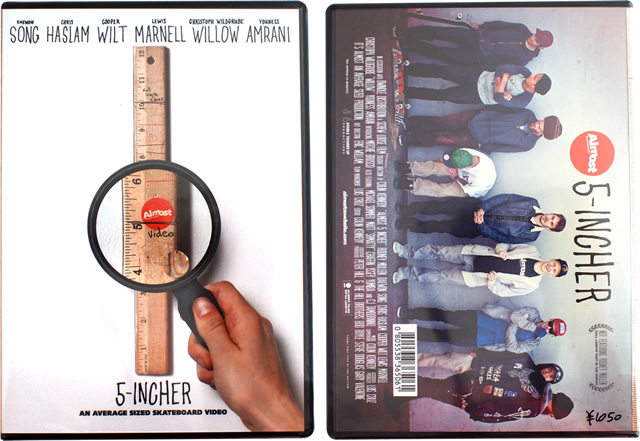 almost 5-INCHER / スケートボード DVD