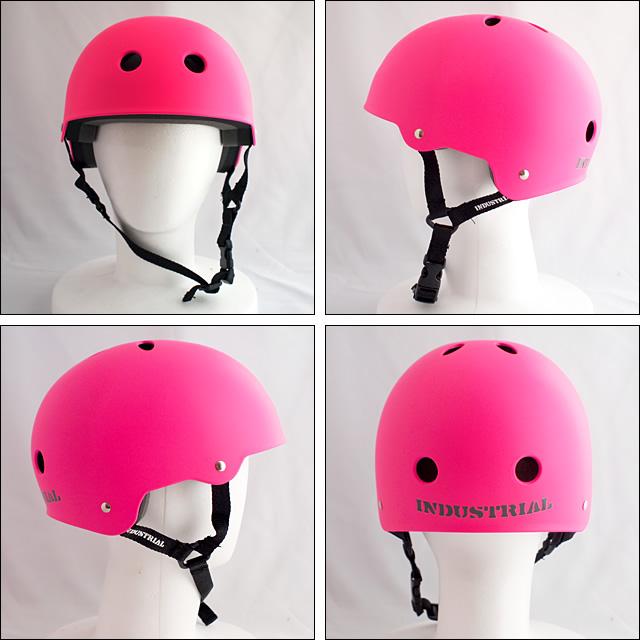 Industrial【インダストリアル】ヘルメット ネオンピンク