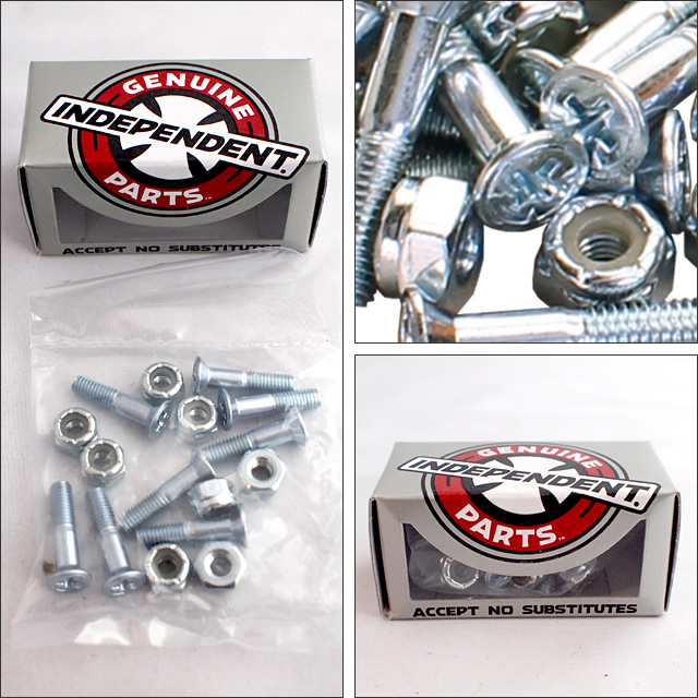 Independent【インデペンデント】ビス Geuine Parts Hardware(Silver)