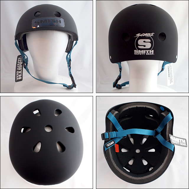 SMITH Safety Gear【スミス セーフティーギア】ヘルメット(Matte Black)