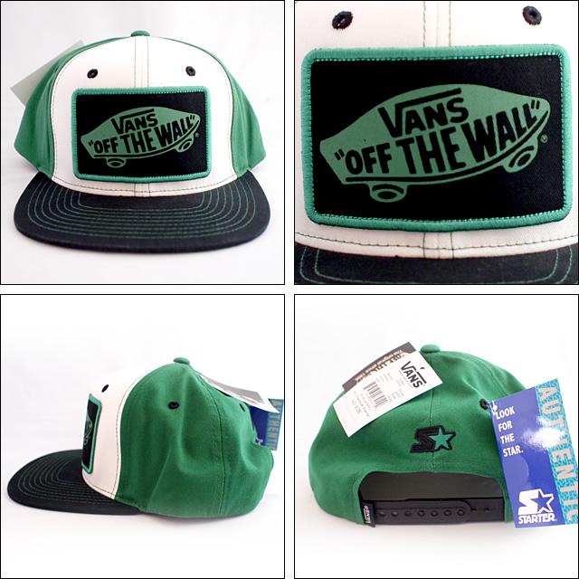 Vans【バンズ】キャップ Cap(Green)