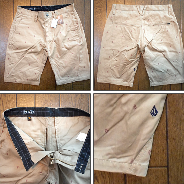VOLCOM【ボスコム】チノショートパンツ JAPAN LIMITED Slergo Chino Short Slim Ergo fit 21