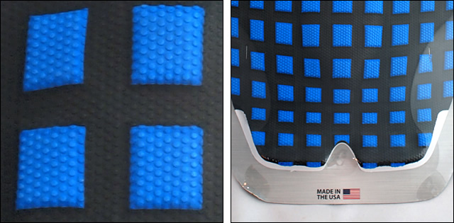X-TRAK【エックストラック】デッキパッド GRENADE BLUE